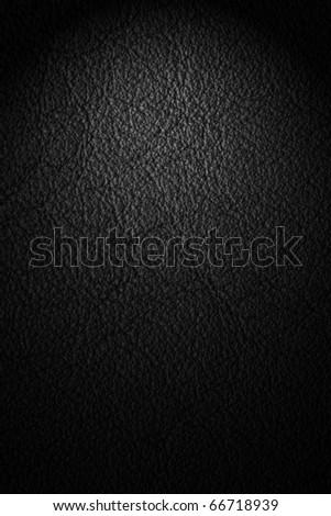 black texture with spotlight