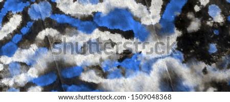 Black Tie Dye Print. Watercolor Paint. Artistic Dirty Canva. Sky Watercolor Paint. Indigo Rough Art Print. Indigo Brushed Material. Brushed Material. Blue Graphic Dyed.