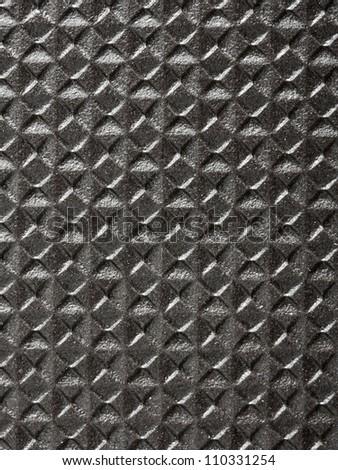 Black tile closeup