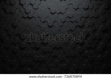 black triangular abstract...