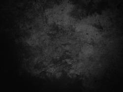 Black vintage concrete backgrounds for text