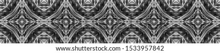 Black Vintage Seamless Background. Ornate Tile Background Ornate Tile Background Black Silver Decoration print. Dark Texture. Hand Drawn. Kaleidoscope Effect. Floral Elements Floral Pattern.