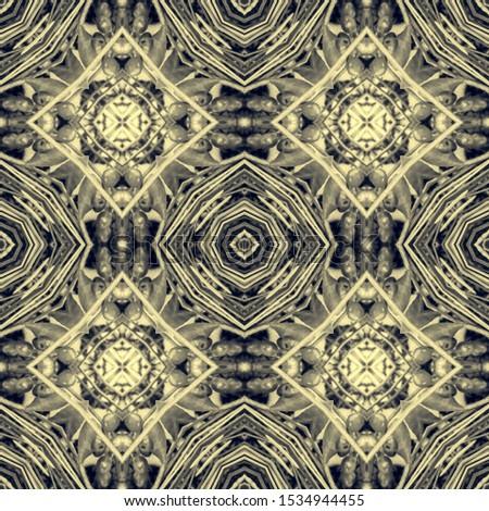 Black Vintage Seamless Background. Ornate Tile Background Ornate Tile Background Black Silver Dressing element Antique Element Hand Drawn. Kaleidoscope Pattern Floral Pattern. Floral Design.