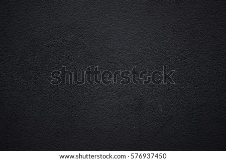 Black wall texture pattern rough background. #576937450