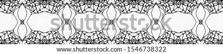 Black Wedding vintage lace seamless. Ornate Tile Background Ornate Tile Background Golden Black Dressing element Dark Texture. Hand Drawn. Kaleidoscope Effect. Floral Elements Floral Elements