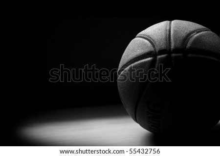 Black & White Basket Ball