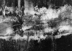 Black white grunge old wall weathered grained scratches distressed splat detail texture background