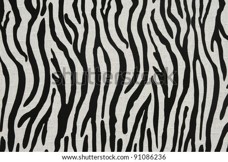 black white modern fabric pattern background - stock photo