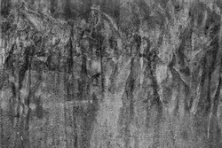 Black white old dirty wall. Texture of grunge concrete plate