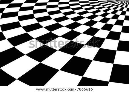 Black & White tiled background