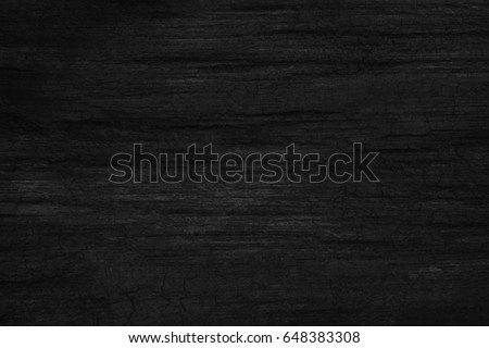 black wood background texture table top view. Blank copy space for design - Shutterstock ID 648383308