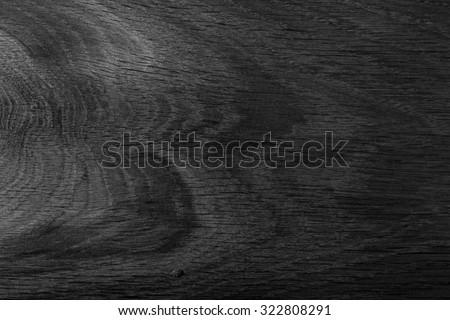 Black wood. Expensive ebony.