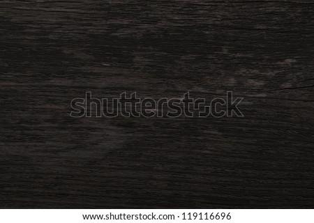 Black Wood Texture Background - Shutterstock ID 119116696