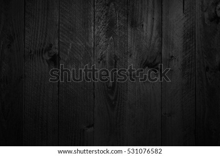Black wood texture for design and background #531076582