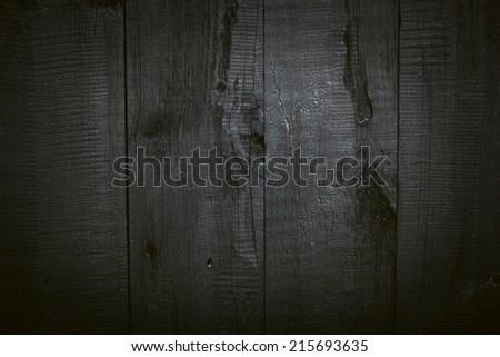 Black Wooden Background./ Black Wooden Background.