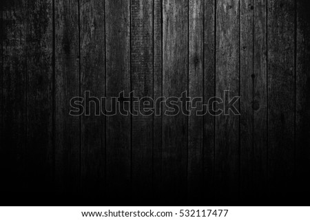 Black wooden background. Blackboard. Grunge texture #532117477