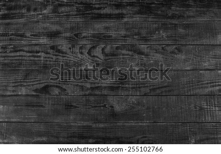 Black wooden background from wooden slats
