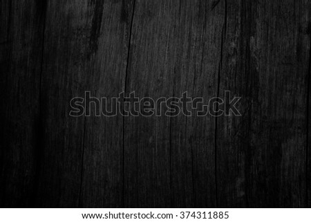Black wooden texture background blank for design #374311885