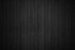 black wooden texure floor background table top view.