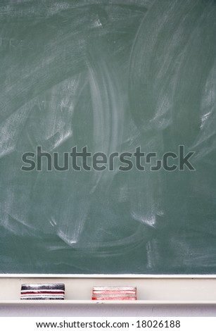 Blackboard - stock photo