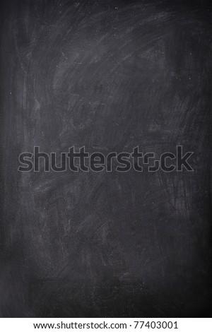 Blackboard / Chalkboard empty blank sign vertical. Used feel with great texture.