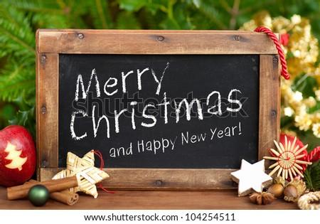 Blackboard, Merry Christmas