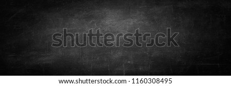blackboard texture and black background, copy space horizontal wall #1160308495