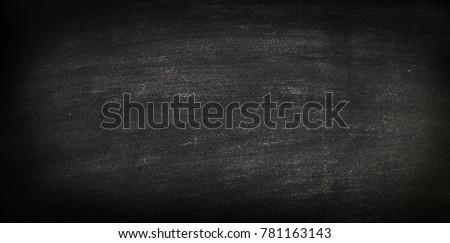 blackboard with chalk doodle ...