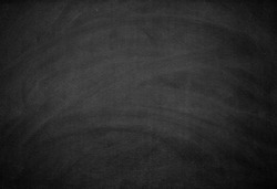 Blackboard with white chalk scratch background