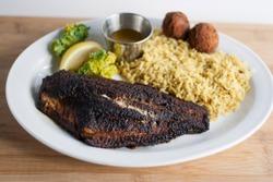 Blackened Catfish Plate
