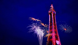 Blackpool Tower Fireworks