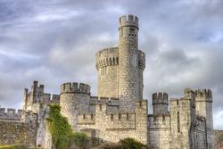 Blackrock castle in Cork city, Ireland.