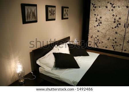 blackwhite bedroom
