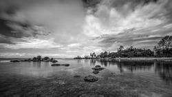 Blackwhite Photos landscape Wonderful  Batam Bintan Indonesia