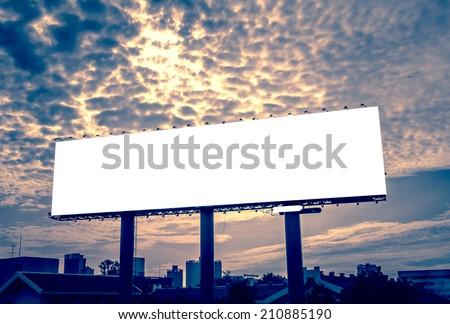 blank billboard - advertising outdoor public commercial