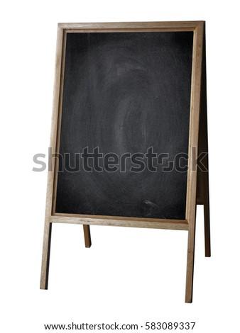 Blank blackboard #583089337