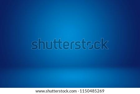 Blank blue background