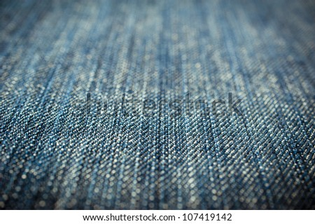 blank blue denim jeans texture use as background