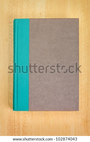 Blank Book Cover for your Copy - stock photo