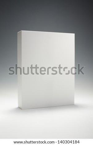 Blank box - stock photo