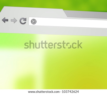 Blank Browser Background