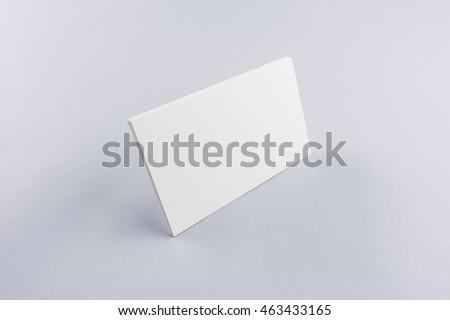 Blank business card postcard with soft shadows ez canvas blank business card postcard with soft shadows reheart Gallery