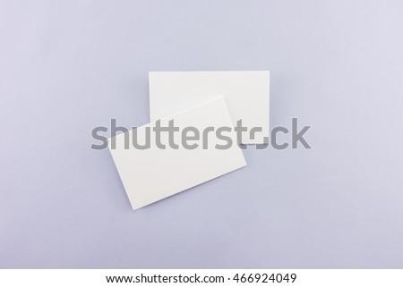 Blank business card postcard with soft shadows ez canvas blank business card postcard with soft shadows colourmoves