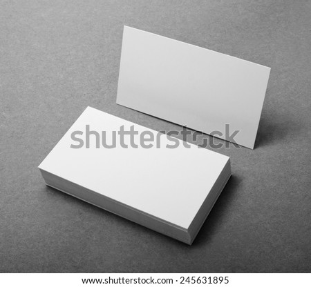 blank business cards, identity design, corporate templates, company style