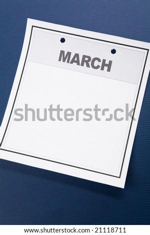 blank march calendar. lank march calendar.