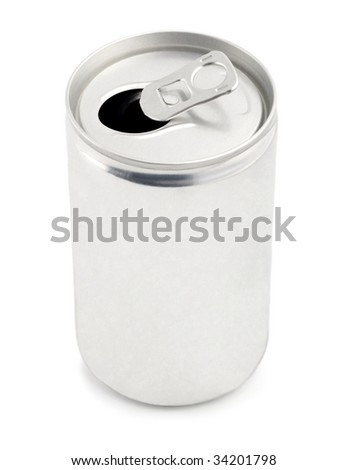 blank can for cola, drink, fizz, juice, soda, tonic,beer