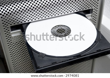 blank cdrom or dvd ready to burn music mp3 movies or backup data