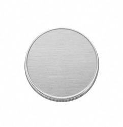 blank coin isolated
