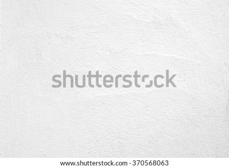 Blank concrete wall white color for texture background - Shutterstock ID 370568063