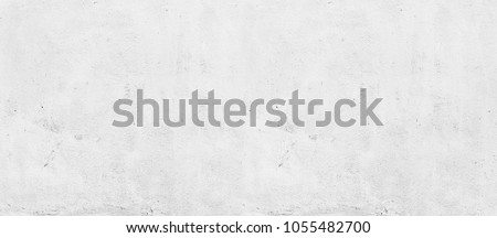 Blank concrete white wall texture background